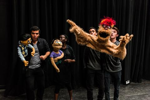 "The Nebraska Repertory Theatre presents ""Avenue Q"" March 2-16 at the Lied Center's Johnny Carson Theater. Photo by John Ficenec."