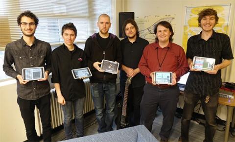 BISoN iPad quintet to perform Nov. 5 in Westbrook Rm. 110.
