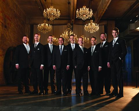 Cantus will perform at the Lied Center on Nov. 3 at 7:30 p.m. The group features two UNL alums:  Adam Fieldson and Chris Foss.
