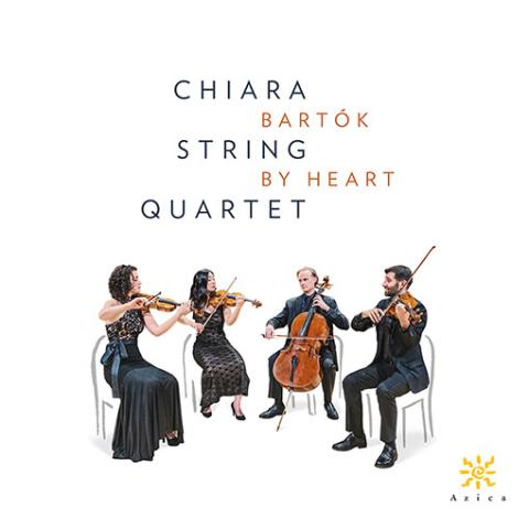"The Chiara String Quartet have released a two-CD set titled ""Bartók by Heart"" on Azica Records."