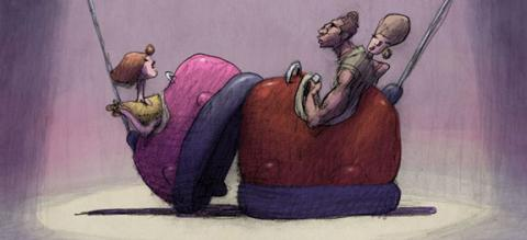 "Director Bill Plympton to appear at the Ross on Aug. 28 for a screening of ""Cheatin.'"""