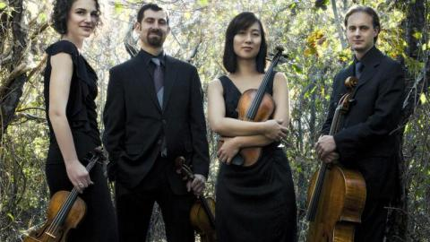 The Chiara String Quartet is featured in Internet2 Day at Nebraska activities on Nov. 13. The quartet will rehearse via a high-speed connection with Northern Illinois University's Avalon Quartet.