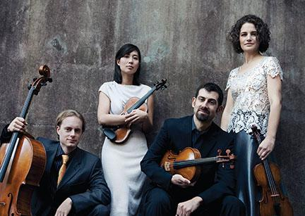 UNL's Chiara String Quartet is the Quartet in Residence this year at New York's Metropolitan Museum of Art.