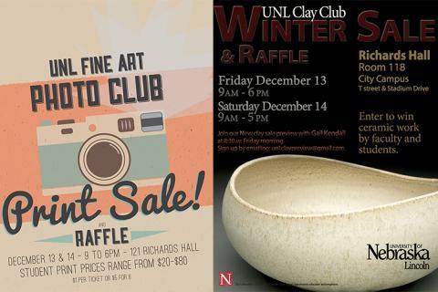 UNL Fine Art Holiday Sale