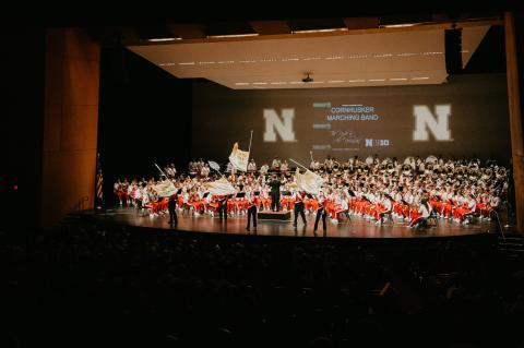 Cornhusker Marching Band Highlights Concert