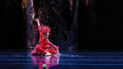 "Misty Copeland will perform the title role in Igor Stravinsky's ""Firebird"" Feb. 16, 2018, at the Lied Center for Performing Arts. Courtesy photo."