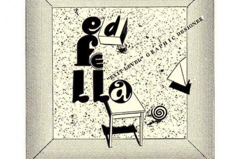 Photo of Ed Fella's Work