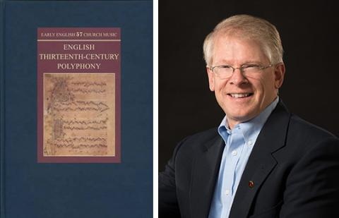 """Peter M. Lefferts has released a new book titled """"Manuscripts of English Thirteenth-Century Polyphony (Early English Church Music)."""""""