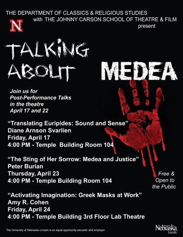 Talking about Medea