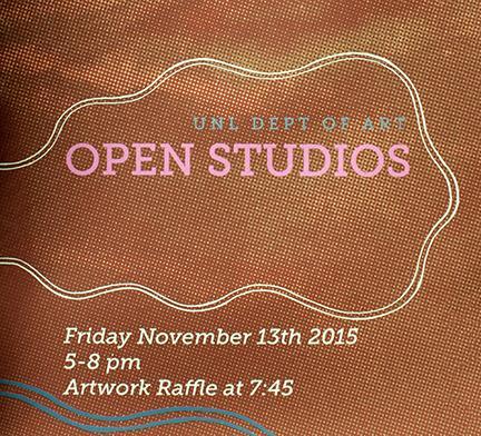 Open Studios event in Richards Hall and Woods Art Building is Nov. 13.