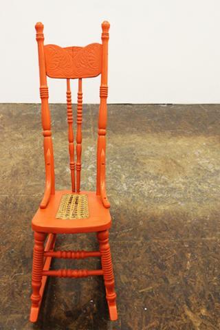 "Liana Owad, ""Radical,"" reconfigured found object, 36"" x 12"" x 30"", 2015."