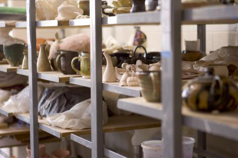 The UNL Clay Club's Spring Pottery Sale and Raffle is April 29-30.