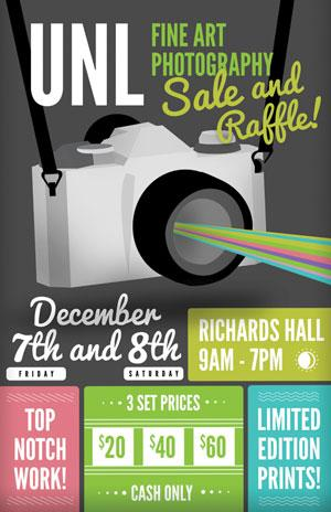 photo and print sale poster