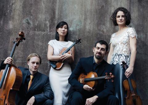 Chiara String Quartet - Photo by Liz Linder