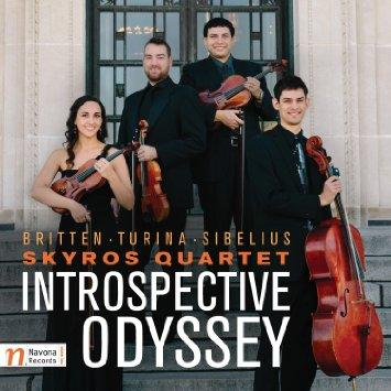 "The Skyros Quartet is releasing their first CD, ""Introspective Odyssey."""