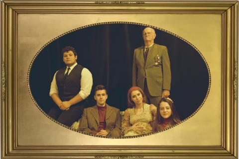 Pictured: (standing) John Burkhart, (seated left to right) Daniel Darter, Brett Gaffney, Arin Turnage, Claire McClannan. Courtesy photo.