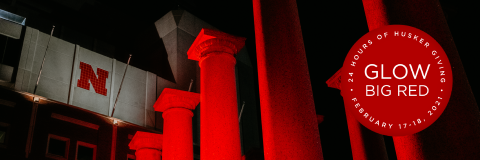 Glow Big Red—24 Hours of Husker Giving—begins at noon on Feb. 17. Visit http://glowbigred.unl.edu to help support the Hixson-Lied College of Fine and Performing Arts.