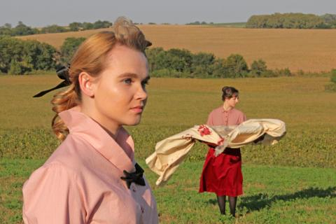 Brenna Hill and Kirstie Smith star in UNITY (1918) opening Oct. 9.