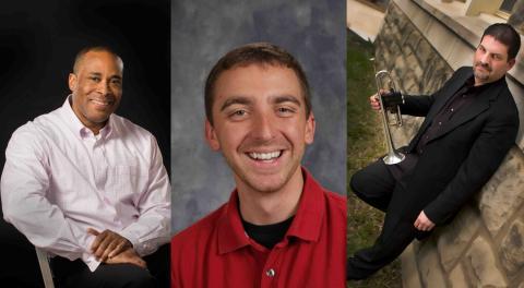 Dr. Darryl White, Paul Soulek, and Dr. Alan Wenger
