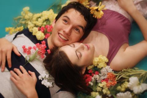Michael Barth and Hannah Dolezal. Photo by Bridget Vacha