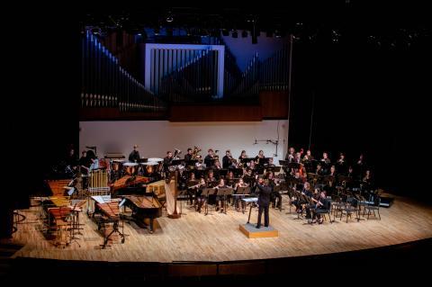 UNL Wind Ensemble (pre-covid performance)
