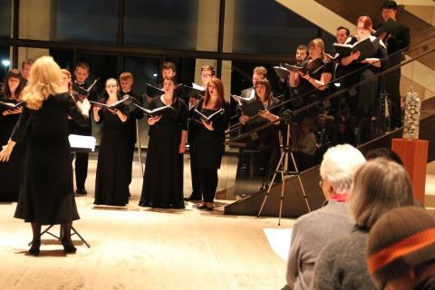 Chamber Singers at the Sheldon Museum of Art