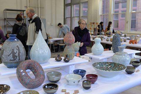 The Clay Club's Spring Sale is April 26-27 in Richards Hall Rm. 118. Support the work of talented student artists by purchasing their most recent work.