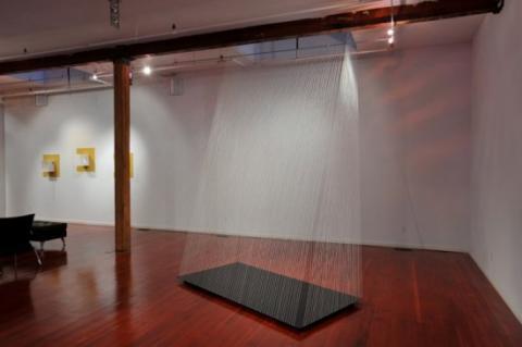 """Helen Hiebert, """"Holding Space"""" installation."""