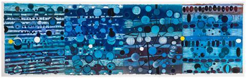 "Karen Kunc, ""Oscillation Shift"" (2015)."
