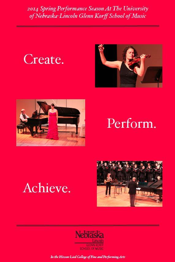 2014 Glenn Korff School of Music Performance Season Promo