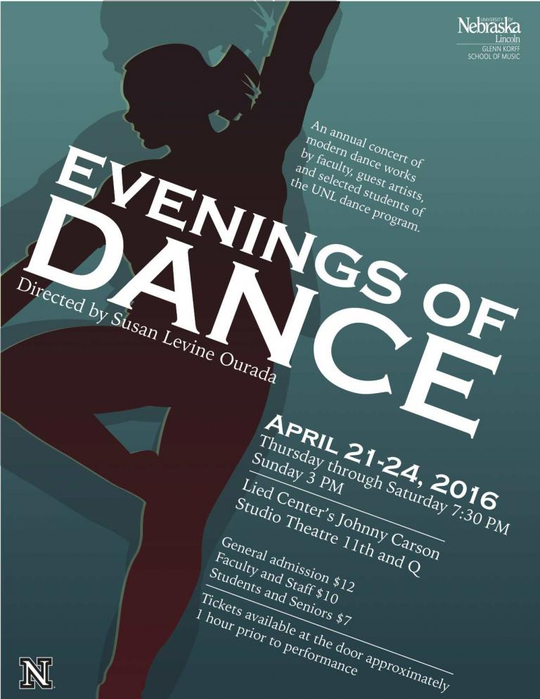 Evenings of Dance Poster
