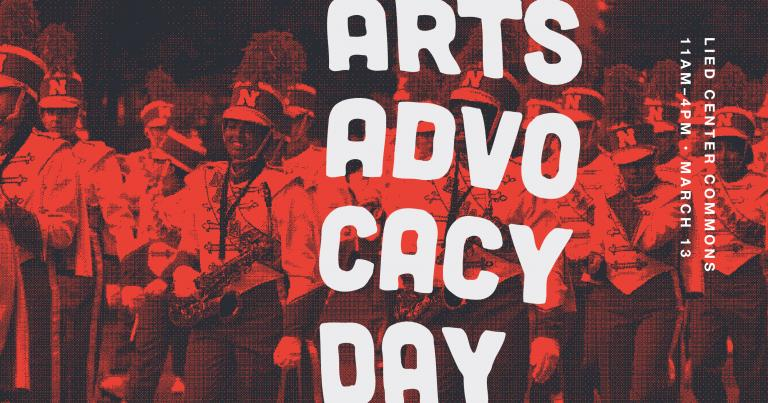 The 2nd annual Arts Advocacy Day will take place on Wednesday, March 13 from 11 a.m. to 4 p.m. in the Lied Commons.