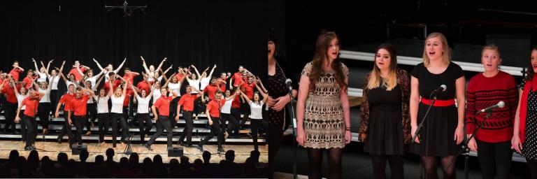 Big Red Singers and Vocal Jazz