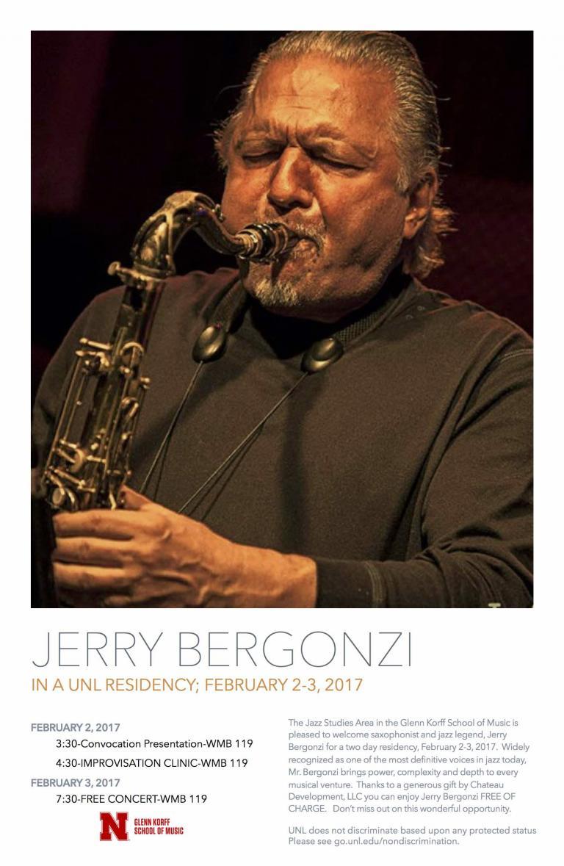 Jerry Bergonzi poster