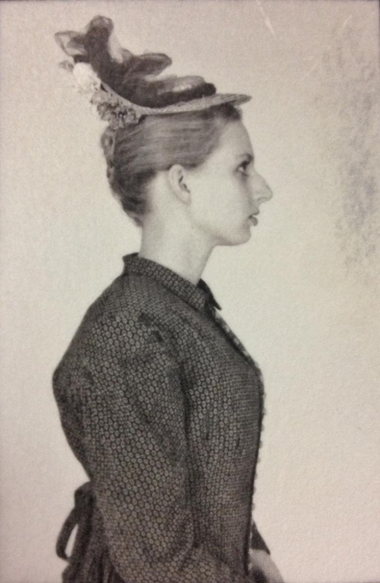 """Karen Buettner, """"Victorian Lady,"""" silver gelatin print, 2014."""