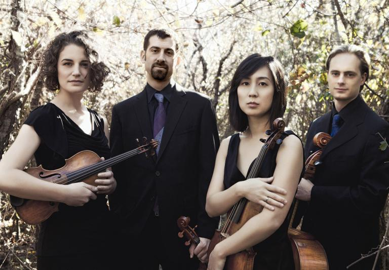 Chiara String Quartet, Photograph by Lisa-Marie Mazzucco