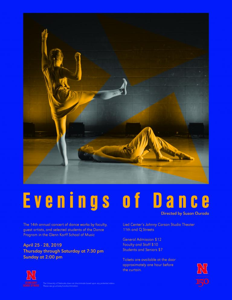 14th annual Evenings of Dance scheduled for Carson Studio Theater