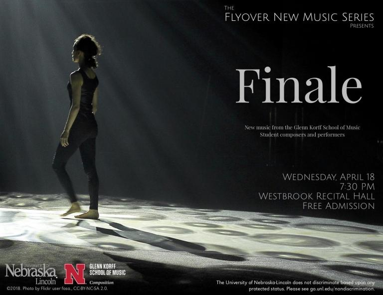 "Flyover New Music Series ""Finale"" poster"