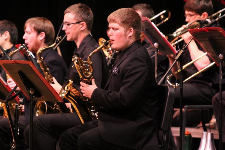 The UNL Jazz Orchestra will perform with the UNL Big Band on March 5 at 7:30 p.m. in Kimball Recital Hall.
