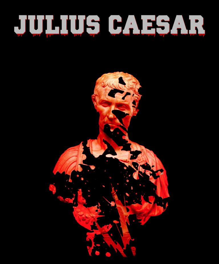 "The Johnny Carson School of Theatre and Film presents ""Julius Caesar"" Jan. 23-25 in the Lab Theatre."