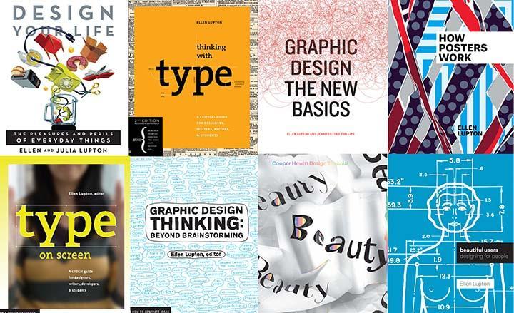 A selection of Ellen Lupton cover designs.