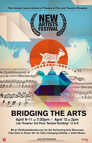 Theatrix presents the New Artists Festival April 9-12.