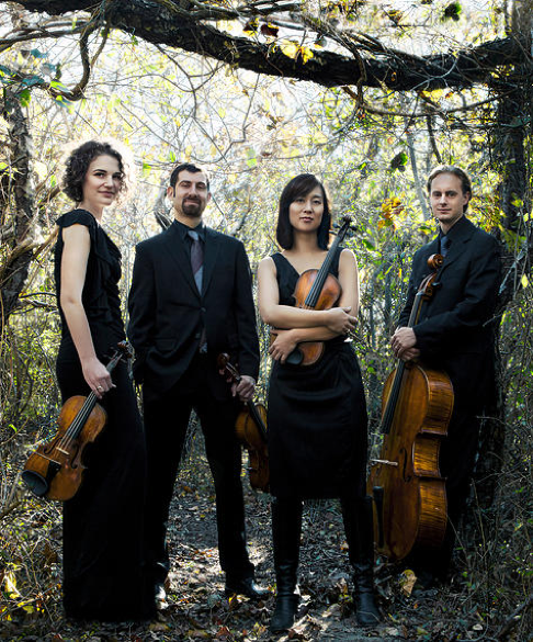 Chiara String Quartet (photo by www.jensenartists.com)
