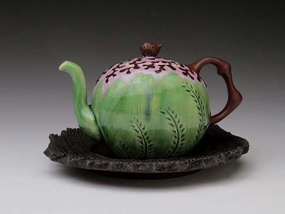 A teapot by Sean Scott.