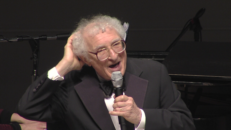 Sheldon Harnick performing in 2012