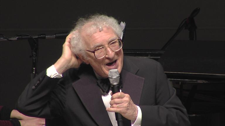 Sheldon Harnick performing in 2012