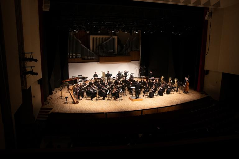 The Symphonic Band performs Oct. 12 in Kimball Recital Hall.