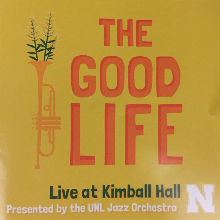 Jazz CD cover for The Good Life