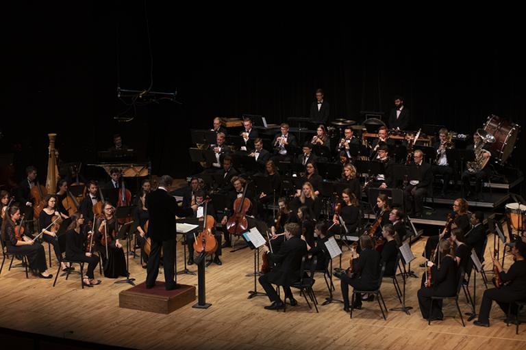 The University of Nebraska–Lincoln's Symphony Orchestra will perform Sunday, Oct. 10 in Kimball Recital Hall.