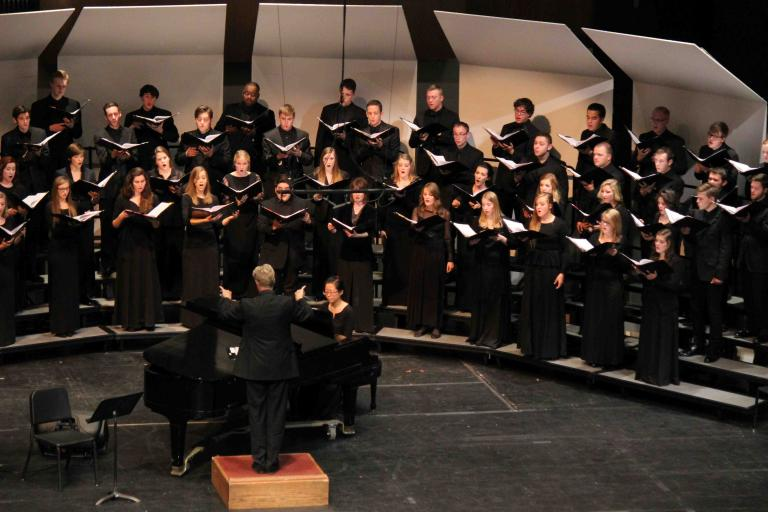 University Singers in Kimball Recital Hall
